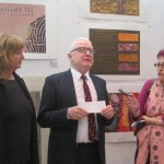 Opening of the exhibition by H.E. Michael Forbes, Ambassador of Ireland to Bulgaria, at the reception on Thursday, 1 November